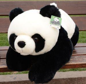 45cm مدبب PANDA دمية دب محشوة الحيوان أفخم لعبة دمية وسادة لينة