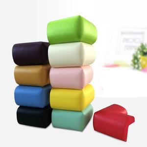 All'ingrosso- (10pcs / lot) Bambino caldo di sicurezza per bambini Angolo Protector protezione essenziale 10 colori possono essere scelti Soft Corner Guard perfettamente