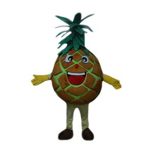 pineapple Mascot Costumes Cartoon Character Adult Sz 100% Real Picture