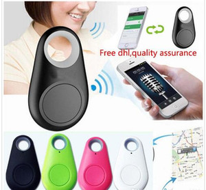 Vente chaude Mini Smart Finder Bluetooth Tracer Pet Enfant GPS Locator Tag Alarme Portefeuille Clé Tracker
