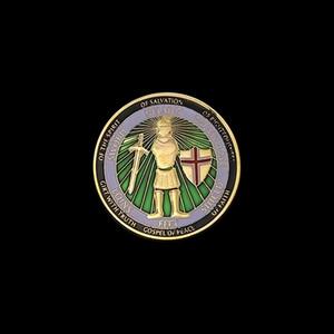 50PCS United States Army Military Souvenir Münzen Rüstung Gottes Verteidigung der Glaubensherausforderungs-Münze Sammlerhandgefertigte Geschenke