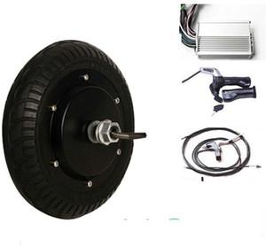 """8 """"36v 400W bürstenloser Hochgeschwindigkeits-Elektromotor-Roller-Kit ohne Gangschaltung 2 Rad-Elektroroller"""