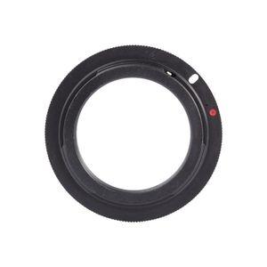 Freeshipping 2 pçs / lote Nova Cor Preta Lente M42 para Canon Câmera EF Montagem Adaptador Anel 60D 550D 600D 7D 5D 1100D