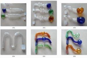 Hunderte von Räucherzubehör Räucherpfeifen Glaswasserpfeifen Öl RIGS Glaspfeifen Fittings Kochtopf Räucherglaspfeifen für Bongs