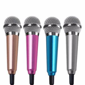 미니 라펠 미니 헤드셋 마이크를 들어 휴대 전화 노래 노래 노래방 마이크에 패션 3.5mm의 유선 마이크 클립