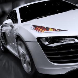10 шт. автомобиля стикер выглядывал монстр наклейки для автомобилей стены смешной наклейка графический винил автомобиля Decal