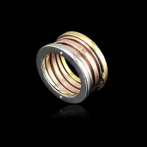 Оптовая ювелирные изделия цвет кольцо весна пары узкая версия весна три три цвета Цвет кольцо весной кольцо