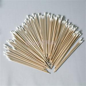 Wholesale- 100pcs Women Beauty  Cotton Swab Cotton Buds Make Up Wood Sticks Nose Ears Cleaning Cosmetics Health Care