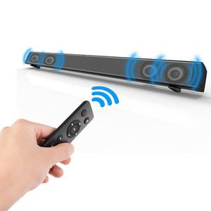 Novo LP-09 Bluetooth Speaker 2.0 Canal Com Fio e Sem Fio Bluetooth TV Soundbar Áudio 31.5 Polegada 40 W Subwoofer Embutido Controle Remoto 1 pcs