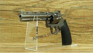 Low pric venda 10 pcs acrílico claro pistolas ao ar livre titular arma modelo mostrando gun display stand rack frete grátis