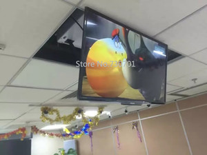 AT 32 - 70 lcd tumber plasma tv remote control lift hanger ceiling tv mount lift,for Swivel