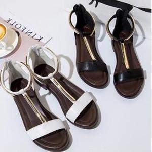 Compras Online Para Mulheres Senhoras Apartamentos T-Strap Sapatos Meninas Moda Sapatos de Compras de Marca Loja de Calçados Websites Com Frete Grátis
