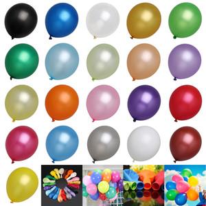 12inch 50pcs un ensemble de ballons en latex fête d'anniversaire événement décorations de mariage 21 couleurs