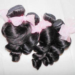 4pcs / lot 8A agradáveis espiral cachos soltos onda extensões de cabelo peruano virgens Meu DHgate Vendor grande venda
