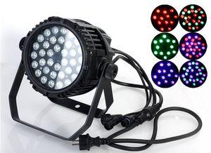 Prix usine Étanche AC110-240V 54W RGBW Wall Washer LED Étape LED s'allume Par Éclairage DJ Stage Lights projecteurs avec 8CH DMX512 contrôle