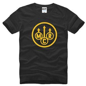New My Chemical Romance футболки мужчин хлопка с коротким рукавом напечатанных Punk Rock Мужская футболка Мода Рок Топы Тис