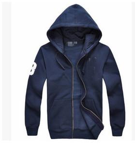 Livraison gratuite 2017 nouvelle vente chaude Mens polo Hoodies et Sweat-shirts automne hiver casual avec une veste de sport hood hoodies