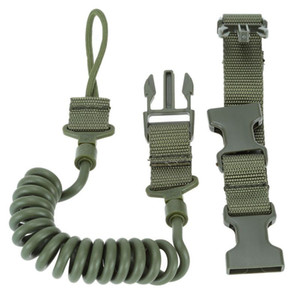 Tactical Sling Fucile regolabile Bungee Caccia Two Point Airsoft Gun Strap System Paintball Gun Sling