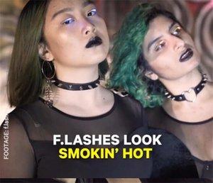 200pcs F.Lashes Interactive LED Eyelashes for Dance Concert Christmas Halloween LED Eyelashes Waterproof X018
