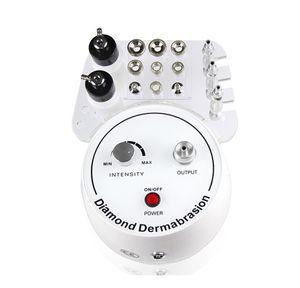 3 em 1 máquina de Dermoabrasão Multifunction com o vácuo do pulverizador para a remoção principal do ponto Máquina Facial de Microdermabrasion Diamond Peeling da pele CE