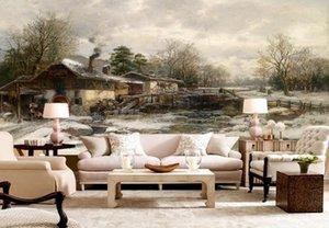 обои для стен 3d фото обои пользовательские обои для гостиной западная картина маслом обои настенная роспись 3d