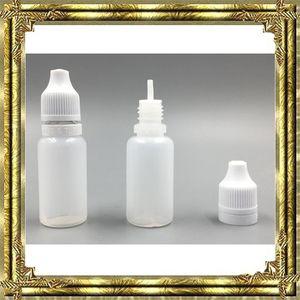 5 ml 10 ml 15 ml 20 ml 30 ml 50 ml vazio e líquido conta-gotas de plástico conta-gotas com tampas de garrafa à prova de criança agulha dicas e líquido e cigs