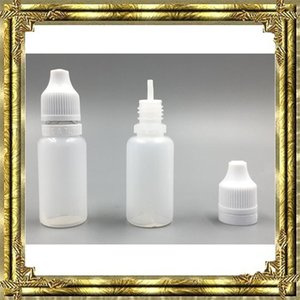 5 ml 10 ml 15 ml 20 ml 30 ml 50 ml Empty E Botellas cuentagotas de plástico líquido con tapas de botella a prueba de niños Consejos de aguja E liquid e cigs