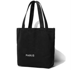Famous fashion C Canvan Shopping bag Luxury beach bag Travel tote Women Wash Bag Cosmetic Makeup Storage Case
