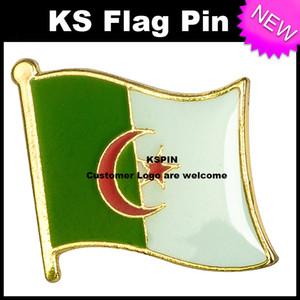 Алжир Флаг Значок Флаг Pin 10 шт. Много Бесплатная Доставка KS-0002