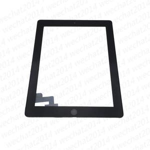 شاشة تعمل باللمس لوحة زجاج 60PCS مع أزرار محول الأرقام لاصق لباد 2 3 4 أبيض وأسود