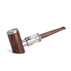 Original Kamry E-Pipe Kit K1000 Plus Elektronische Zigarette Vape Stift-Verdampferstarter Altmodisches Holz Design E-Rohrmod 1100mAh