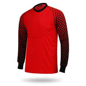 Football Goalkeeper Long Sleeve Shirt Long Pant Short Pant Athletic Adult Soccer Jersey Shirts Men Sweater Jerseys Big Size