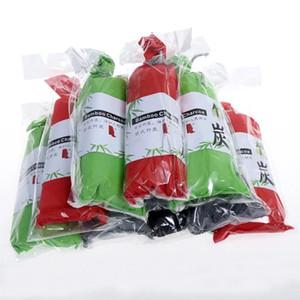 Carbone di bambù Sachet Deodorante per auto Filtro aria Anti-microbico Deodorante Odore 100G in ogni sacco di carbone attivo di bambù