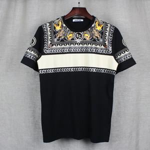 2017 модный бренд Мужские футболки мужчины с коротким рукавом рубашки повседневная футболка Tee топы мужские с коротким рукавом собака печати