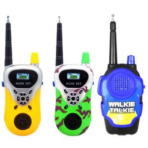 Uzaktan akıllı walkie talkie kablosuz talkie paternity bulmaca interaktif çocuk oyun evi interkom oyuncaklar Iki Yönlü Radyo