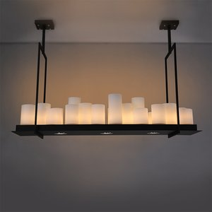 Kevin Reilly Altar Modern Pendant chandelier lamp LED Loft Black Hardware Glass Hanging Pendant Chandelier Lights fixtures