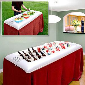 Insalata gonfiabile che serve Bar Refrigeratore Buffet Insalata Food Drink Vassoio Ice Cooler Picnic Drink Table Per i Vassoi da Picnic