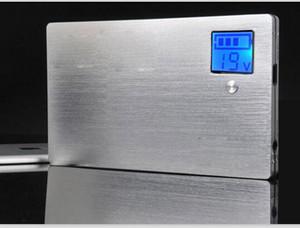 Power Bank 20000mah Планшетный компьютер Резервный аккумулятор, 5 В / 2 Зарядное устройство, 9/12 / 16 / 19V Универсальный адаптер