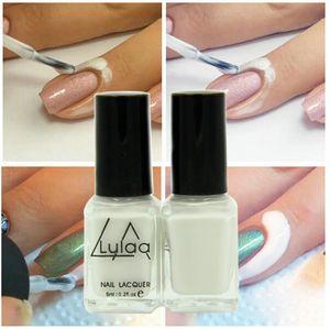 Atacado-Lulaa 1pc Base Coat Cuidados Nail Polish Peel Off Líquido Fácil de limpar Nail Art Tape fita de látex Finger Skin Protected Liquid Palisade