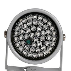 20-30 متر ir للرؤية الليلية 48 ir led إضاءة المنور ضوء 850NM للكاميرات الأمن cctv ملء الإضاءة معدن رمادي قبة