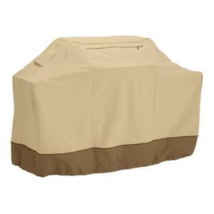 190cm al por mayor BBQ impermeable Barbacoa Cubierta Cubierta para parrilla de protección con bolsa de almacenamiento (Caqui)