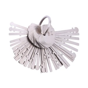 KLOM conjurons Choisissez Set (40 touches) Ward Lock Keys conjurons de verrouillage Skeleton Key conjurons Clés Unlock Outils pour serruriers professionnels