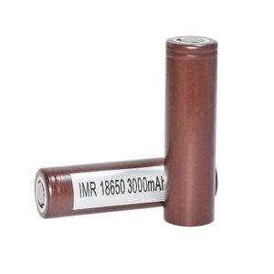 HOT100% Alta qualità 18650 HG2 3000mAh Capacità 35A batterie ad alto scarico Batteria al litio ricaricabile VS HE2 HE4 Batteria senza spedizione Fedex