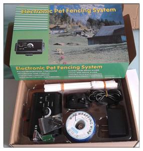 Для 2 собак водонепроницаемый электронные Smart собак в местах Pet фехтования системы беспроводной животное забор системы собака школа поставки