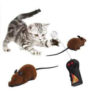고양이 개를위한 무서운 원격 제어 시뮬레이션 플러시 마우스 마우스 키즈 완구 선물 핫