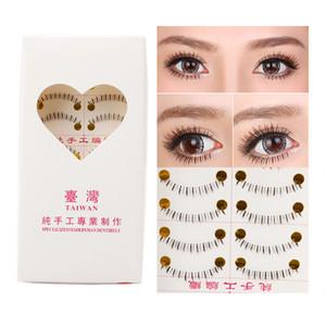 Wholesale- Handmade 10 Pairs Natural Lower Under Bottom Fake False Eyelashes Eye Lashes Hot