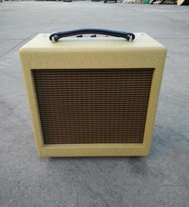 Китайский Made 5F1A Ручной проводной Tube гитарный усилитель комбо, 5W гармоника Арфа Blues5 1 * 8 динамик с Volume Tone Control музыкальный инструмент