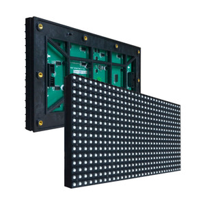 Hero 2017 P8 Módulo de RGB SMD LED al aire libre 256 * 128mm 32 * 16 píxeles para pantalla LED a todo color Desplazamiento de mensaje de señal LED P8 RGB SMD pantalla LED