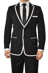 Wholesale- Customize made men suits custom men wedding suit Purple Groom Tuxedos Mens Suit groomsmen Suit Jacket+Pants+Tie
