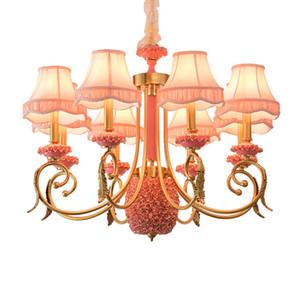 Художественная галерея выставочный зал Led Art deco люстра гостиная подвесной светильник медь керамическая спальня современные свадебные украшения люстры